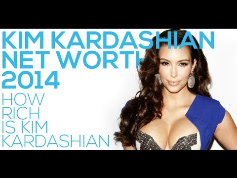 Kim Kardashian Net Worth 2014
