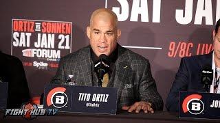 The Full Tito Ortiz vs. Chael Sonnen FULL Post Fight Press Conference Video