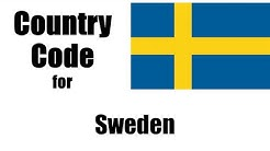 Sweden Dialing Code - Swedish Country Code - Telephone Area Codes in Sweden