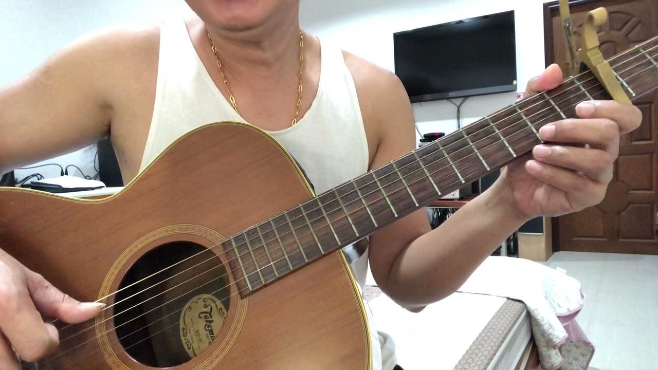สอนเล่นเพลง #โบว์รักสีดำ - ศิริพร #nuiacoustica