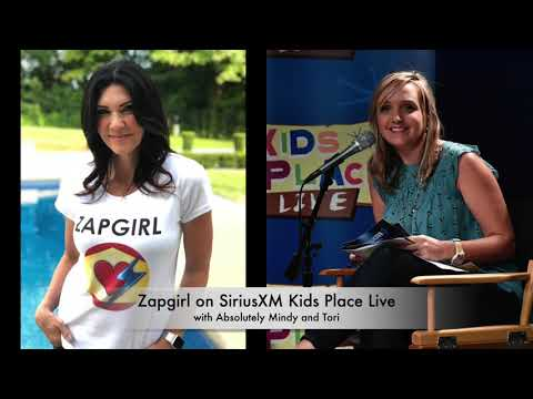 Zapgirl on SiriusXM Kids Place Live - 1.16.19