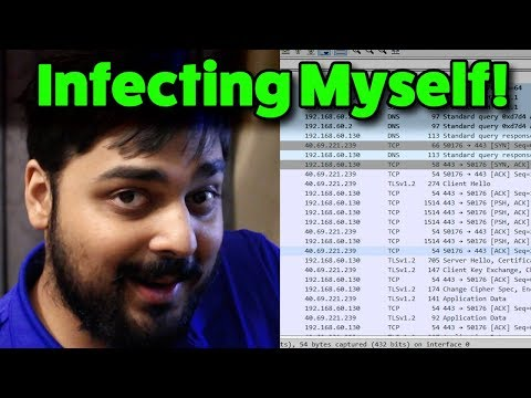 Infecting Myself With Crypto Malware! (Virus Investigations 35)