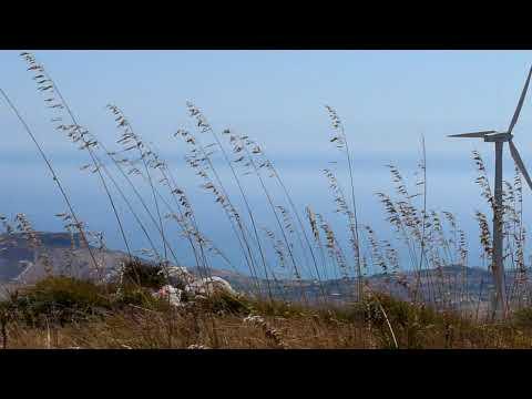 Wind Farm, Siculiana, Sicily [HD]