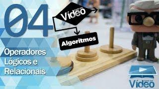 Operadores Lógicos e Relacionais - Curso de Algoritmos #04 - Gustavo Guanabara