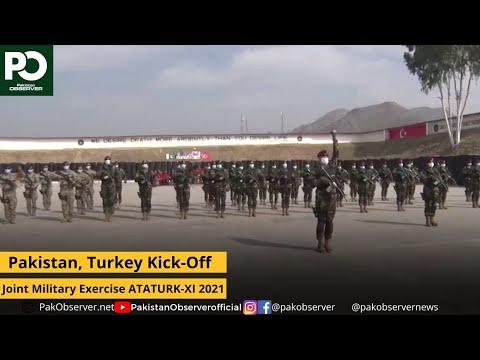 Pakistan, Turkey Kick-Off Joint Military Exercise ATATURK-XI 2021 | Pakistan Observer