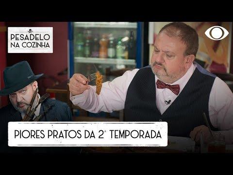 TOP 5: Os PIORES PRATOS Que Jacquin Experimentou No Pesadelo Na Cozinha
