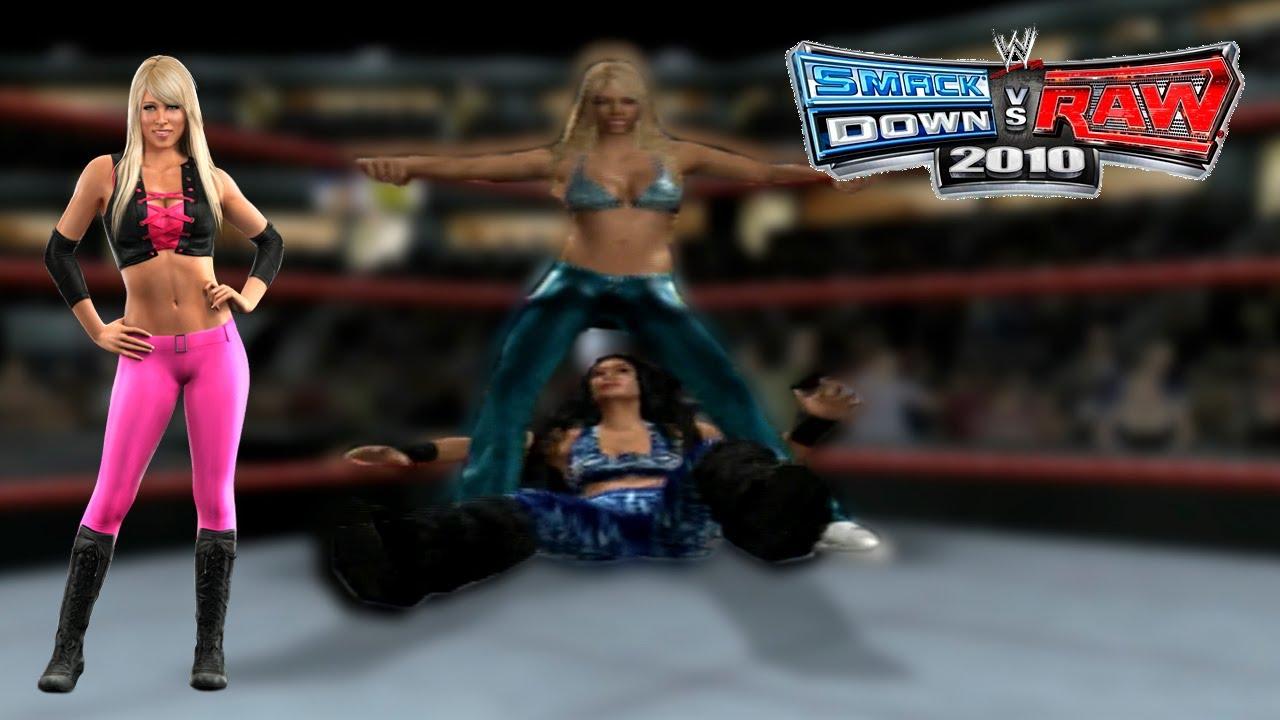 Smackdown vs Raw 2010   Kelly Kelly Stinkface All Divas #1