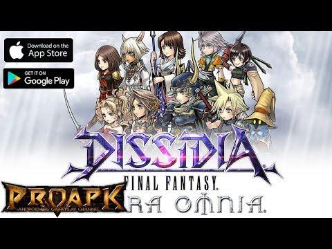 DISSIDIA FINAL FANTASY OPERA OMNIA ENGLISH Gameplay Android / iOS