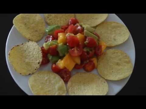Quick Mango Avocado salsa
