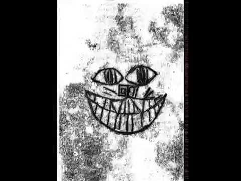 Cheshire Cat Monoprint Animation