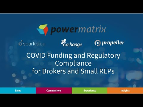 COVID Funding for Brokers and Small Suppliers