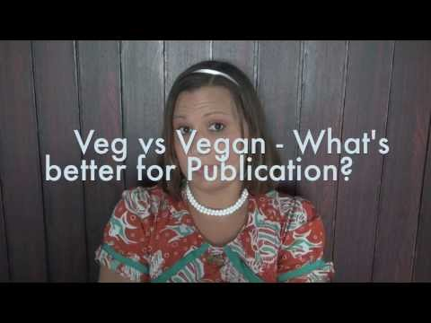 Viva la Vegan! Q&A series: Vegetarian vs Vegan - What's better for Publication?