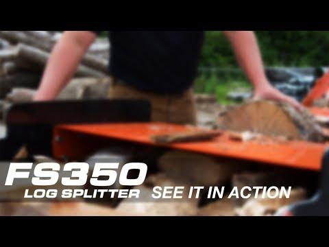 Wood-Mizer FS350 Log Splitter - See It In Action