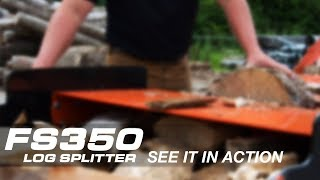 Wood-Mizer FS350 Log Splitter - See It In Action