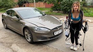 Я купила Tesla чтобы ЗАРАБОТАТЬ