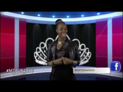 Miss Teen Africa UK 2016 ENTRIES NOW OPEN