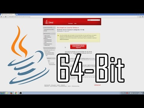 Java 64-Bit Version Installieren [deutsch]