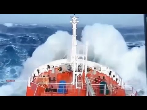 SHIP IN STORM COMPILATION HD [REAL FOOTAGE]