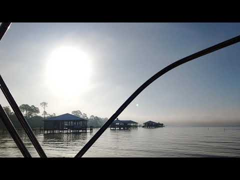 Salty Quicky #199 - View Pirates Cove Marina & Restaurant After Anchoring