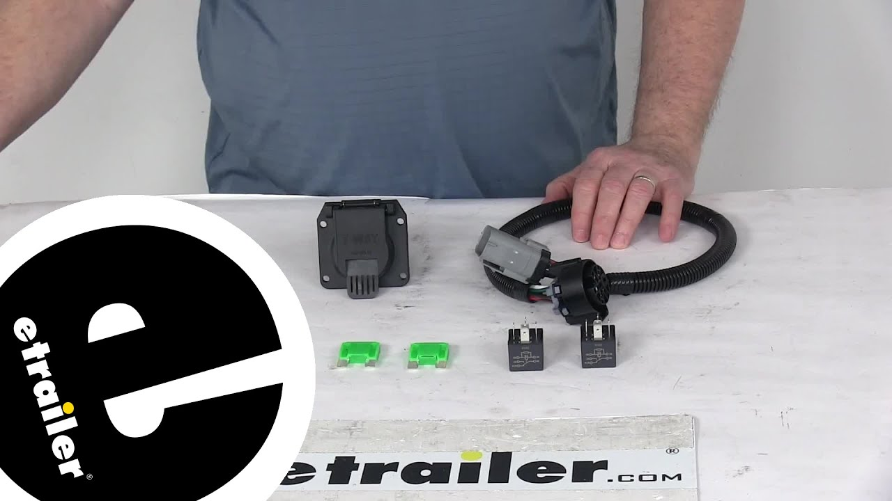 hight resolution of review of tow ready custom fit vehicle wiring trailer hitch wiring 118243 etrailer com