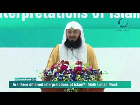 Different Interpretations in Islam - Mufti Menk