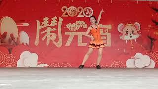 中正律動舞蹈班-昨暝的雨(正面)