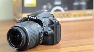 Nikon D3200 Unboxing and Tour