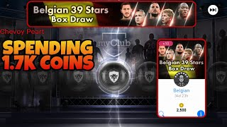 BELGIUM 39 STARS BOX DRAW |PES 2018 MOBILE PACK OPEINING