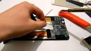 Ремонт планшета (замена батареи)