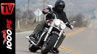 Test-Video | Triumph Thunderbird Commander 2014-Action, Onboard, Sound