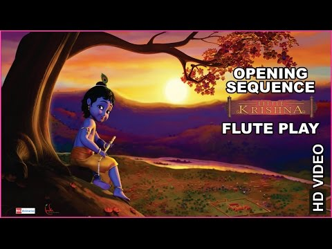 Little Krishna | Opening Sequence | Flute Play