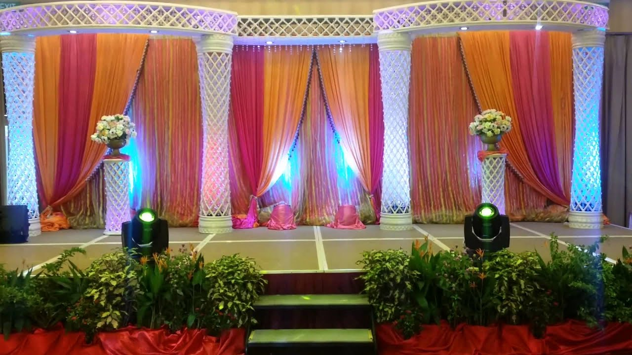 Wedding Reception In Singapore Swimming Club On 12 7 14 Done By KM Services