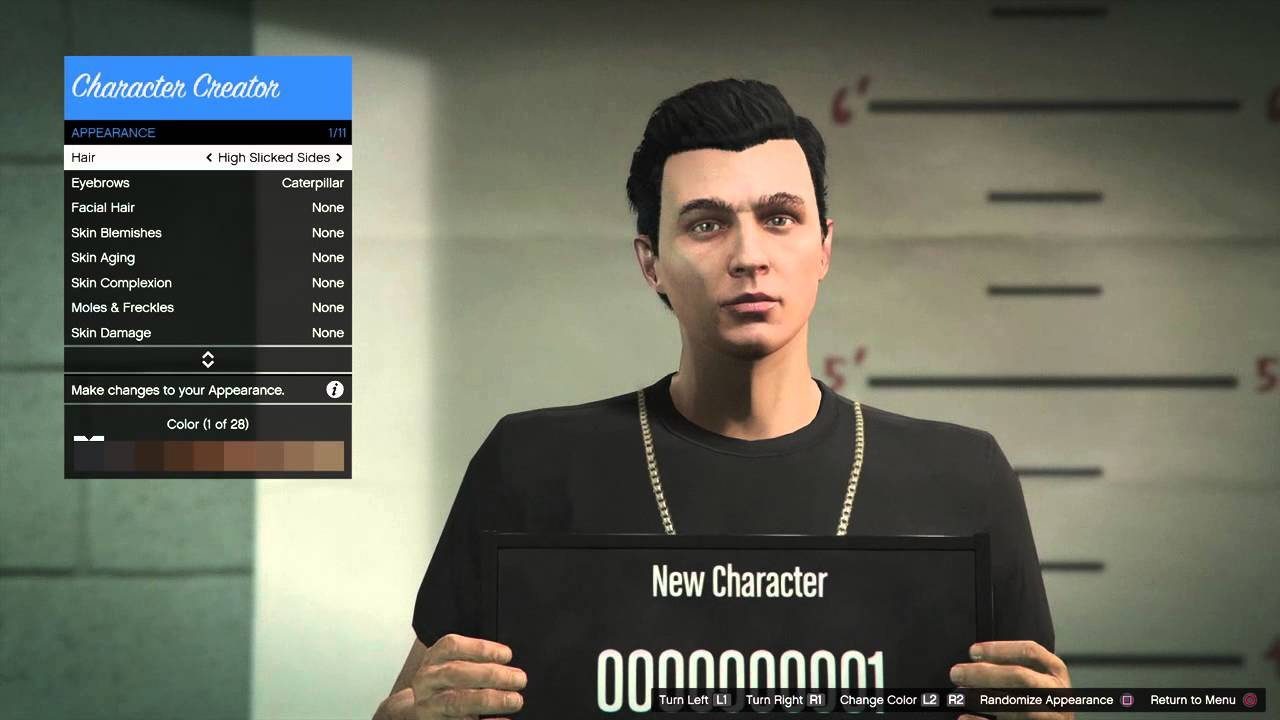 Gta Online Modify Character Wiring Diagrams Chickenwingdiagrampng Grand Theft Auto V Creation Youtube Rh Com 5 Pc