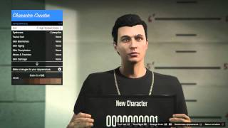 Grand Theft Auto V Online - Character Creation