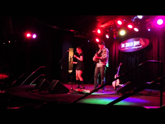 "Willy Porter and Carmen Nickerson sing ""Digging in the Dirt"" at the Soiled Dove in Denver, CO"