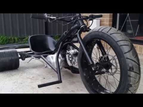 80cc 3 speed motorised drift trike 70km/h