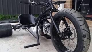 80cc 3 speed motorised drift trike 70km/h