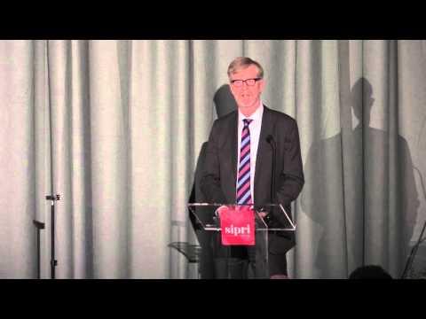 Address by Mr Dan Smith, Director, SIPRI