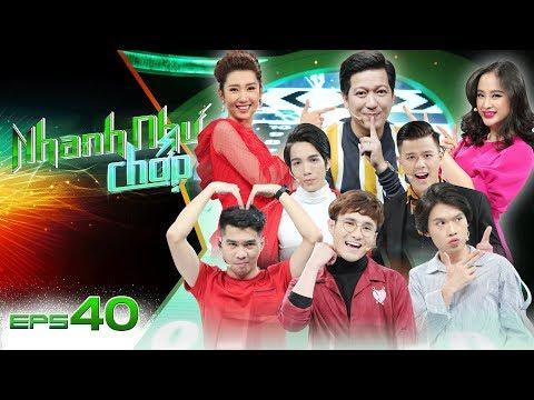 Nhanh Như Chớp  Tập 40 Full HD: Trường Giang Khẳng Định PewPew - Huỳnh Lập Là Người Ngoài Hành Tinh