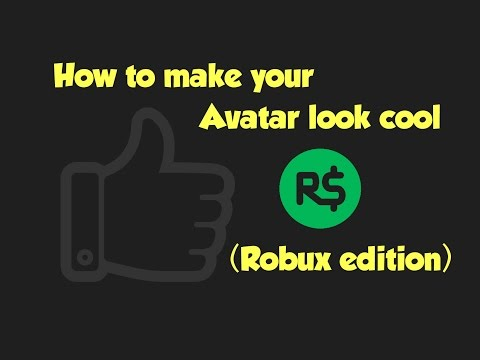 How To Make Your Roblox Avatar Look Coolrobux Edition By - roblox the free prize giveaway obby get free robux items