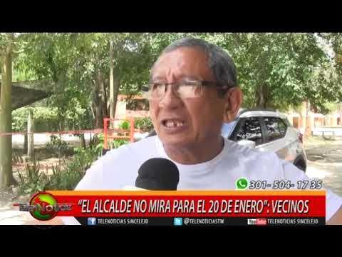 """""""EL ALCALDE NO MIRA PARA EL 20 DE ENERO""""; VECINOS"""