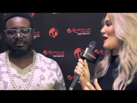 T Pain Interview with Tori Deal
