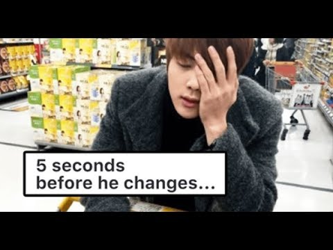 This Is What Happens When BTS's Jin Gets Drunk