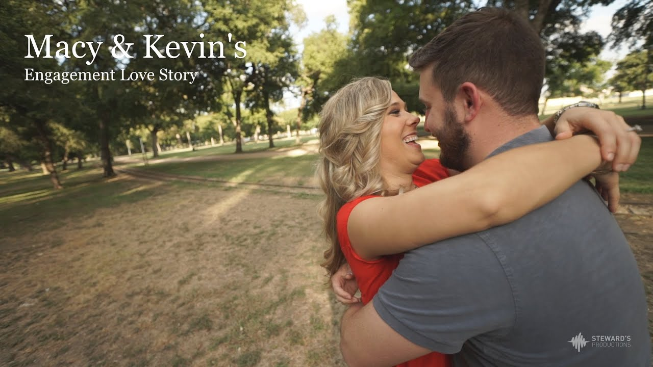 Macy And Kevin S Engagement Love Story Video Dallas Wedding Videographer You