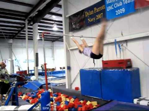 Rebecca Lord Gymnastics Video