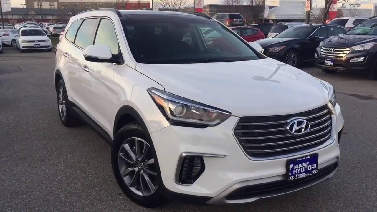 2017 Hyundai Sante Fe Xl Premium Youtube