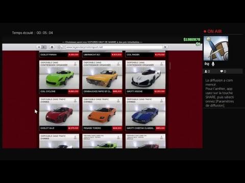 GTA5 VF : visite rapide des garage