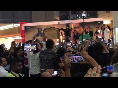 Shahrukh Khan entry in Arabian Center Dubai 2017