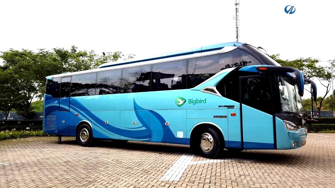 Info Lengkap Foto Dan Harga Sewa Bus Pariwisata Big Bird Saturental
