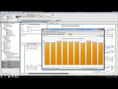 RSLogix 5000 Task Monitor Tool | Online PLC Support